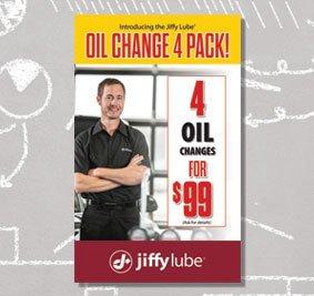 Jiffy Lube - 4 Pack