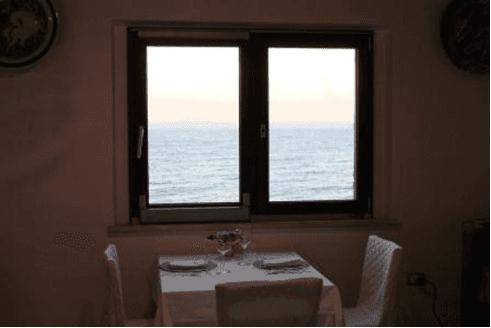 ambiente rilassante, grigliata mista di pesce, mangiare vista mare