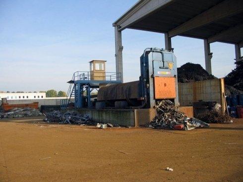 Riciclaggio metalli ferrosi