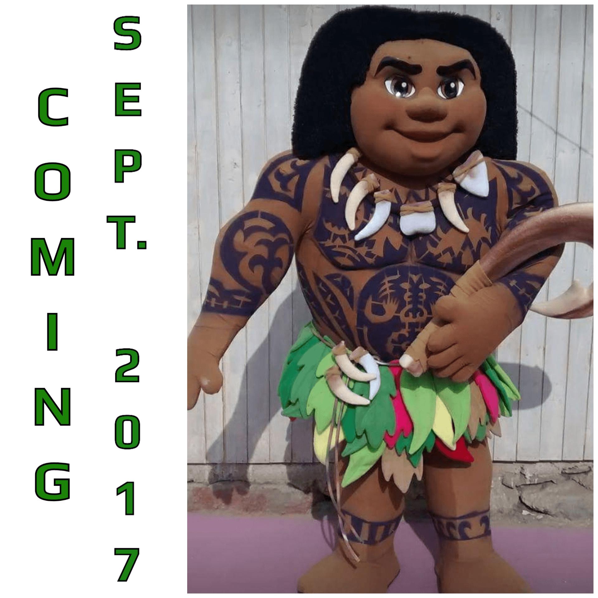 Polynesian Demigod