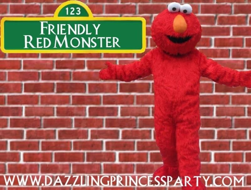 Friendly Red Monster