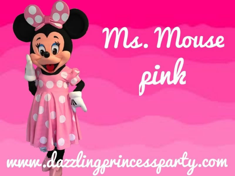 Ms. Mouse Pink
