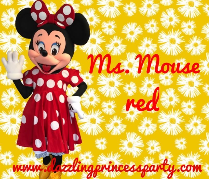Ms. Mouse Red