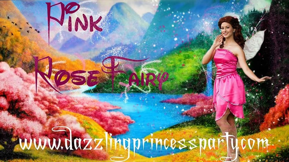 Pink Rose Fairy