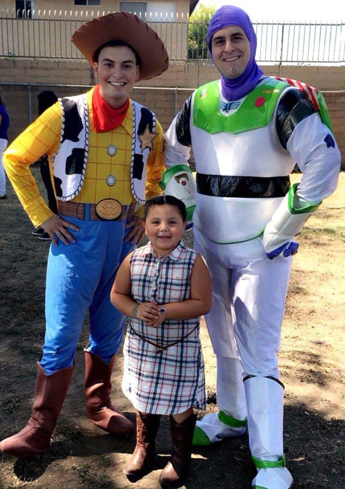 Toy Cowboy & Astronaut