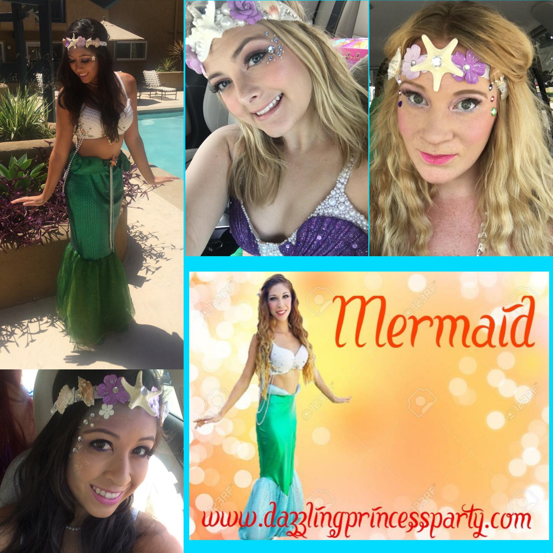 Walking Tail Mermaids