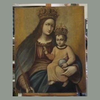 Madonna dopo il restauro
