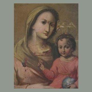 particolare Madonna