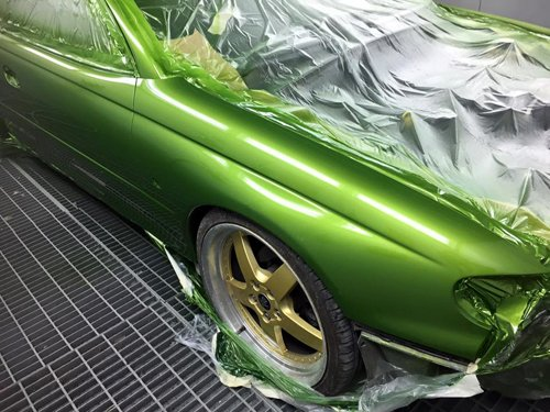 Professional automobile paint work done by experts