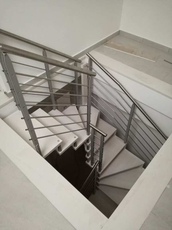 scala interna a chiocciola