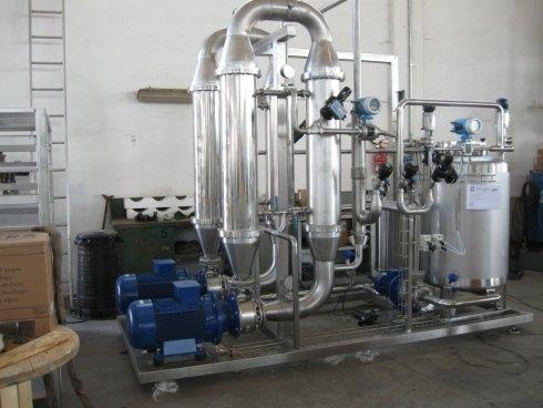 impianto di microfiltrazione