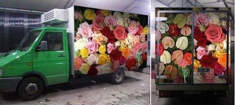 Consegna fiori freschi