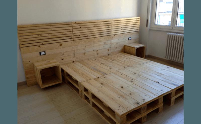 arredamento bancali in legno