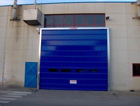 Porte rapide - portoni ad arrotolamento - Torino - Milano - Sacimex