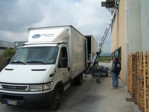 carico dei camion