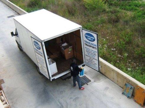 furgone per trasporto