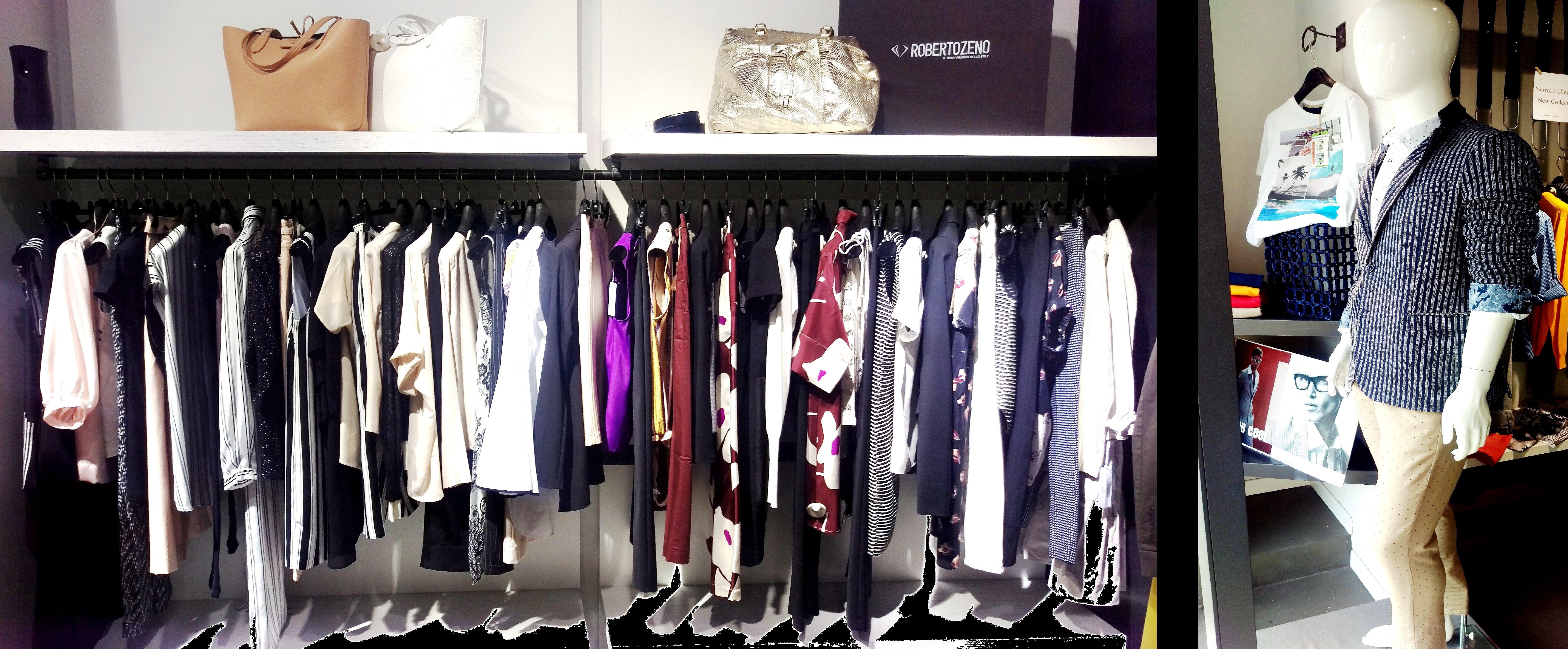 esposizione vestiti