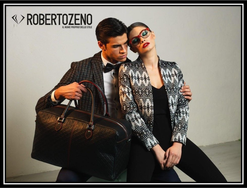 roberto zeno travel bag