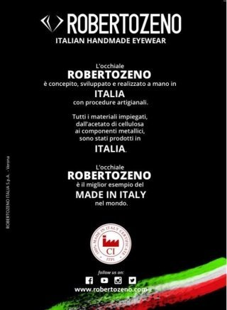 robertozeno made in Italy