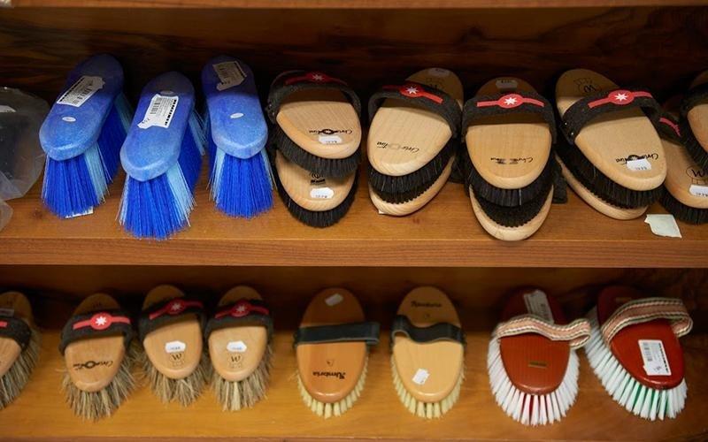 ampia scelta di spazzole