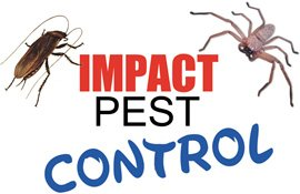 impact pest control business logo