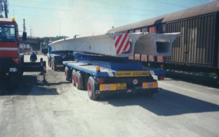 trasporto eccezionale travi cemento