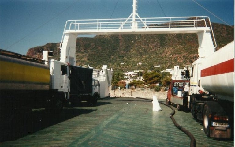 bunkeraggio isola panarea