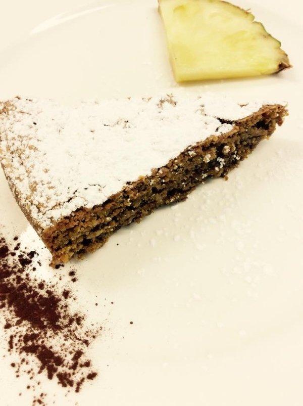 torta di noci gluten free