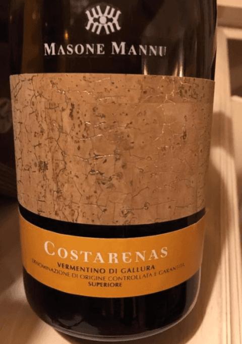 vino vermentino