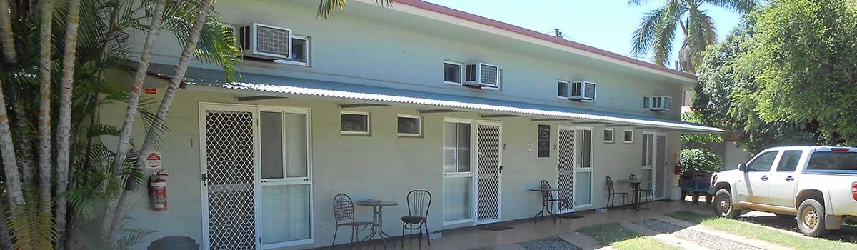Front Door of Mount Surprise motel