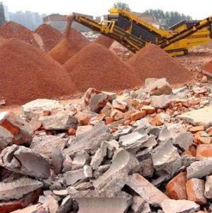 Riciclaggio di materiali inerti
