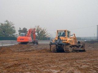 Ripuntatura di terreni agricoli