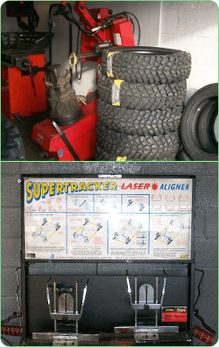 Tyres and tyre pressure machine