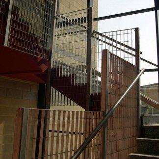 Nuova costruzione  Oratorio S. Luigi, Mozzanica, BG, Collegamento verticale
