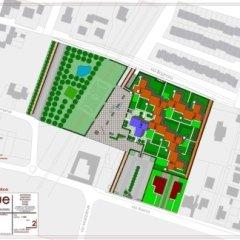 Progetto insediamento Housing sociale, Cremona loc. Bagnara, Rendering