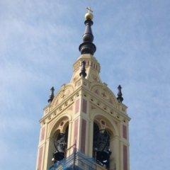 Risanamento e restauro Chiesa S.S. Nazario e Celso, Sesto ed Uniti, CR, Torre campanaria