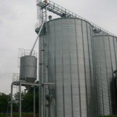 costruzione silos stoccaggio cereali, Vescovato (CR)