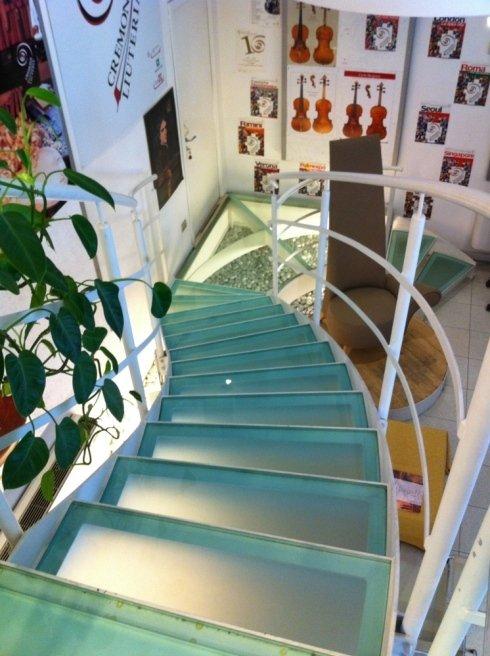 Nuova sede Consorzio Liutai – Cremona – Collegamento verticale