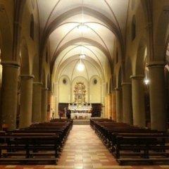 Riqualificazione illuminotecnica Chiesa S. Luca, Cremona, Navata centrale