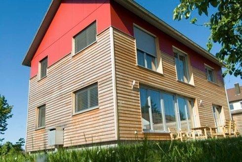 Finestre in legno e legno alluminio.