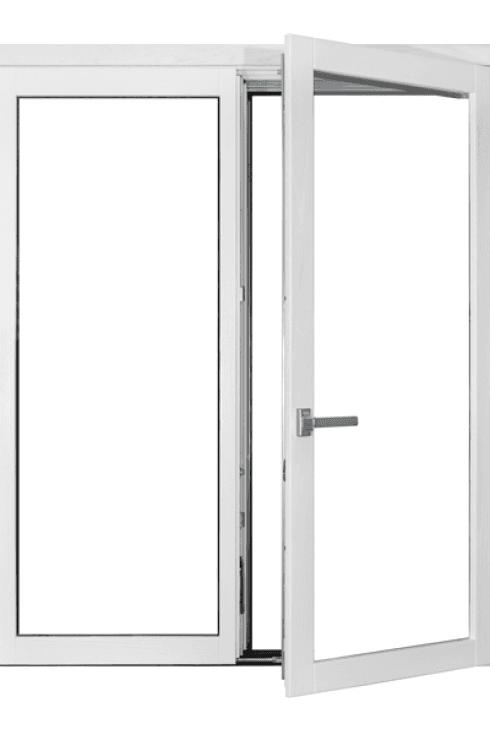 finestre bianche laccate