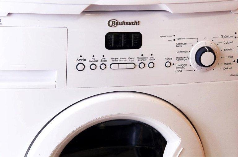 Installazione lavatrici