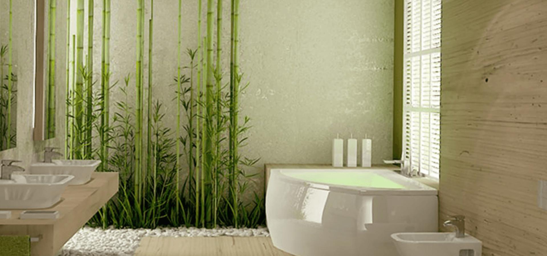 A stunning bathroom