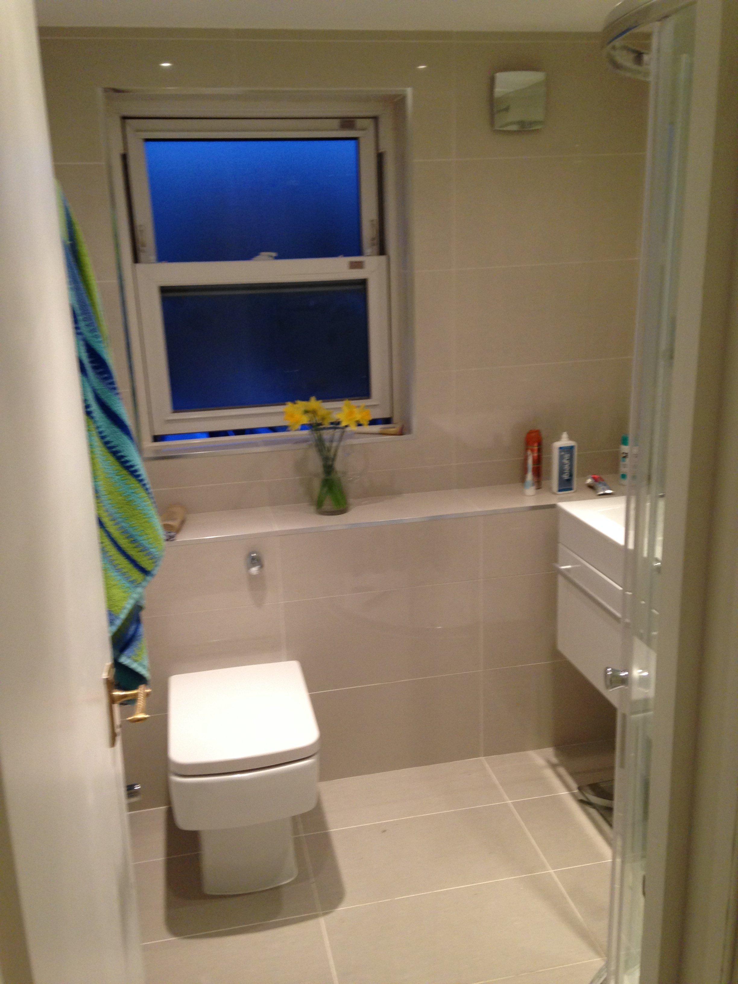Repaired bathroom fittings