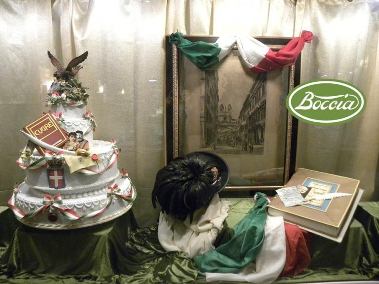 Pasticceria Boccia - Vetrina a tema