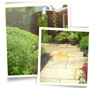 Dream garden - Holmfirth, Middleton, Chadderton - Avonleigh Homes & Gardens - concrete