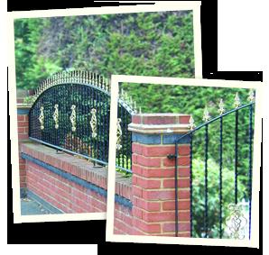 Garden landscaping - Saddleworth, Diggle, Delph - Avonleigh Homes & Gardens - fencing and gate