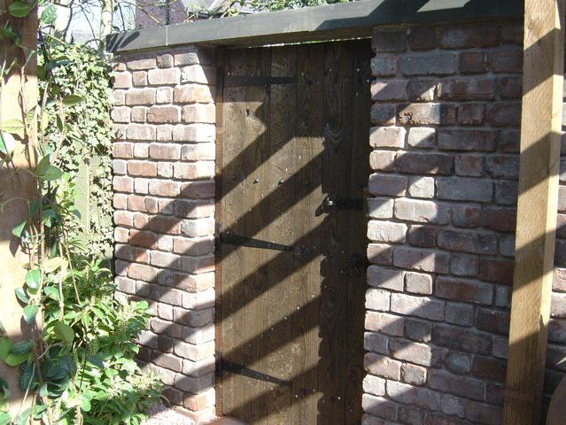 Bespoke garden - Rochdale, Shaw, Huddersfield - Avonleigh Homes & Gardens - wooden door
