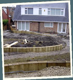 Garden landscaping - Saddleworth, Diggle, Delph - Avonleigh Homes & Gardens - garden construction