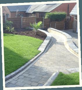 Gates and fences - Saddleworth, Diggle, Delph - Avonleigh Homes & Gardens - garden concrete walkway